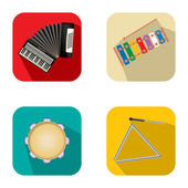 Music and party icons 3 — Vector de stock