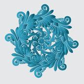 Decorative flourish design — Stock Vector