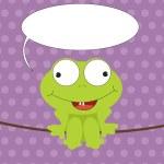 Cartoon frog — Stock Photo