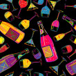 Stock Photo: Party background tile