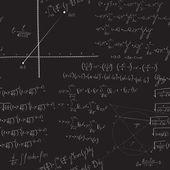 Matematické bezešvé vzor — Stock vektor