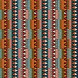 Strip ethnic seamless pattern — Stok Vektör