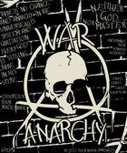 War and anarchy poster — Stock Vector