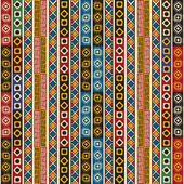 Colorful ethno design — Stok Vektör
