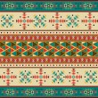 Stock Vector: Navajo pattern