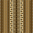 Stock Vector: Seamless ethnic pattern