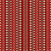 Tribal design seamless pattern — Stock Vector
