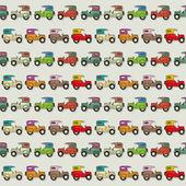 Car Seamless Wallpaper — Stock Vector
