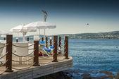 Alanya turkey beach — Stock Photo