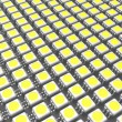 Stock Photo: LED chips
