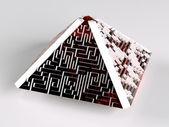 Piramidale labyrint — Stockfoto