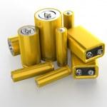 Accumulator battery — Stock Photo #26056313