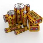 Accumulator battery — Stock Photo #26325001