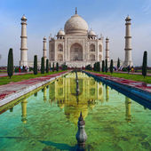 Taj-Mahal — Stock Photo
