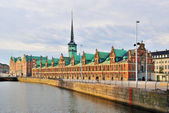 Copenhagen. Old Stock Exchange building — Stock Photo