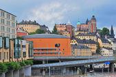 Stockholm. Sodermalm district — Stock Photo