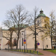 Finland. Church in the town of Hameenlinna — Stock Photo
