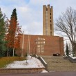 Lahti, Finland. Church of the Holy Cross — Stock Photo