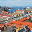 Copenhagen  top-view — Stock Photo