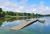 Helsinki. Lake Toolo — Stock Photo
