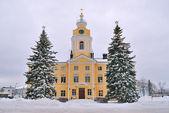 Finland .Hamina before Christmas — Stock Photo