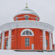 Hamina, Finland. St. Peter and Paul  church - Stock Photo