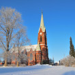 Mikkeli, Finland. Lutheran Cathedral — Stock Photo