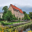 Sweden. Blooming Uppsala before the storm — Stock Photo