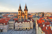 Prague. Old Town Square — Stock Photo