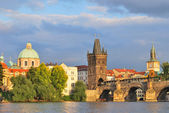 Prague before the storm — Stockfoto