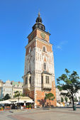 Krakow. Old Town Hall Tower — Stock Photo