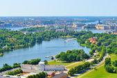 Stockholm bird's-eye view — Stock Photo