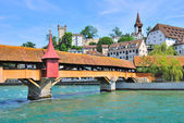 Lucerne, Switzerland. Mill bridge — Photo