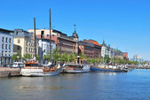 Helsinki. North Harbour — Stock Photo