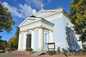 Hamina, Finland. Lutheran church — Stock Photo