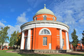 Hamina, Finland. Unique round church — Stock Photo