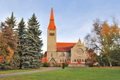 Tampere cathedral, Finland — Stock Photo