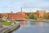Finland. Tampere in autumn — Stock Photo