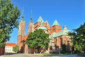 Wroclaw. St. John the Baptist — Stock Photo