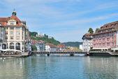 Luzern, švýcarsko — Stock fotografie