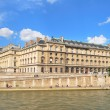 Paris. Beautiful Seine embankment — Stock Photo