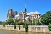 Paris. Notre Dame — Stock Photo