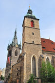 Prague. Church of St Jindrich and St.Kunguta — Stock Photo