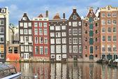 Amsterdam Old Quarter — Stock Photo