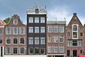 Casco antiguo de amsterdam — Foto de Stock