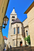 Praga. chiesa di st... george — Foto Stock