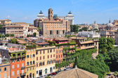 Top-view of Rome  — Stock Photo