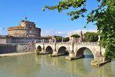Rome. Sant'Angelo Bridge — Stock Photo