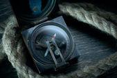 Deniz pusula — Stok fotoğraf