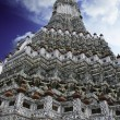 Wat Arun, Temple of the Dawn - Stock Photo